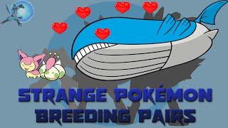 Strange Pokémon Breeding Pairs