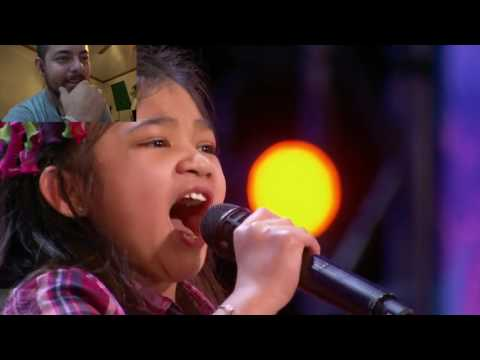 Angelica Hal: 9 Year-Old Singer Stuns the crowd with Her Powerful Voice Reaction