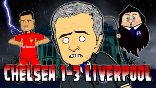 Chelsea 1-3 Liverpool - Thriller Parody (Goals Highlights Coutinho 2015 Halloween Song)