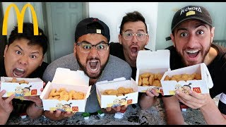 100 MCDONALD'S CHICKEN NUGGET CHALLENGE!!