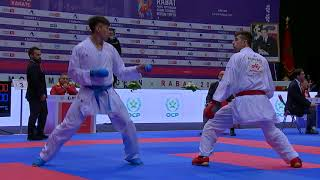 Thrilling first day of Karate action at the Karate 1-Premier League Rabat