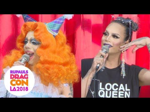 Xxx Mp4 Fashion Photo Ruview Panel With Aja Raja At RuPaul S DragCon 2018 LA 3gp Sex