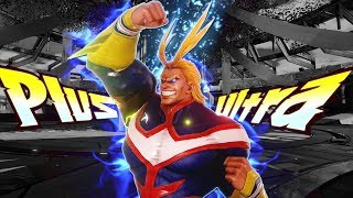 ALL MIGHT HOUR OF POWER RANKED MARATHON! All Might DLC Gameplay (Jump Force Online Ranked)