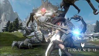 Hound 13 'Project 100' Hundred Soul - Official Gameplay Trailer New MMORPG Mobile Game
