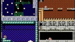 TAS Mega Man 3 & 4 & 5 & 6 NES in 39:06 by Baxter & AngerFist