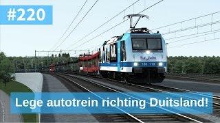 Train Simulator 2017 #220 - BR185 lege Autotrein richting Duitsland. (Eind stop Dord)
