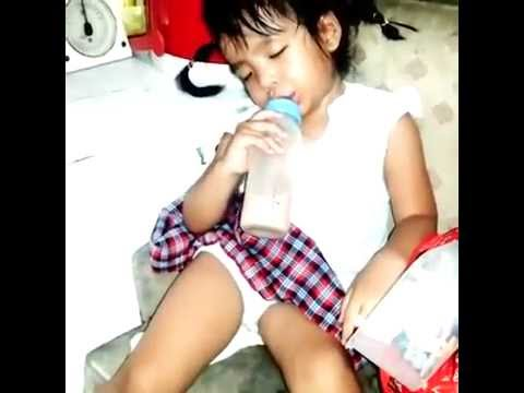 Little Girl Who Lost The Fight Against Sleep