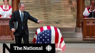 World leaders meet at George H.W. Bush