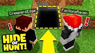 watching enemies EXPOSE their SECRET Minecraft base! - Hide Or Hunt #6