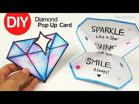 Xxx Mp4 How To Make A Diamond Pop Up Card DIY Paper Craft 3gp Sex