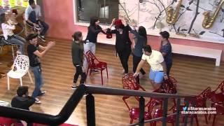لعبة الكراسي تجمع الطلاب قبل النوم - ستار اكاديمي  11 - 03/12/2015