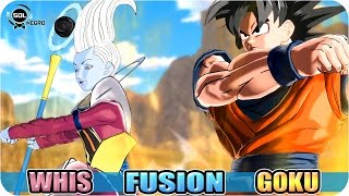 Goku and Whis Fusion VS Vegeta and Beerus (Bills) Fusion - Ultimate God Battle Dragon Ball Super