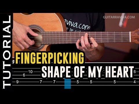 Xxx Mp4 Especial FINGERPICKING Cómo Tocar Shape Of My Heart Guitarraviva 3gp Sex