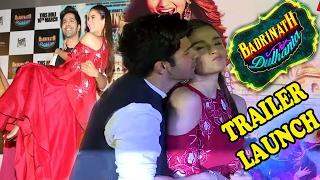 Varun Dhawan And Alia Bhatt Hot Dance Performance At Badrinath Ki Dulhania Trailer Launch