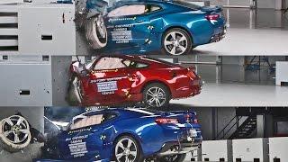 Crash Tests 2016 American Muscle Car - Mustang, Camaro & Challenger