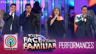 YFSF Grand Showdown Opening Number: Sharon Cuneta, Gary Valenciano, Jed Madela and Billy Crawford