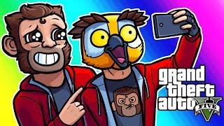 GTA5 Online Funny Moments - Lui Fanclub and Demolition Derby!