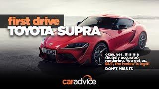 2019 Toyota Supra Review: Prototype drive