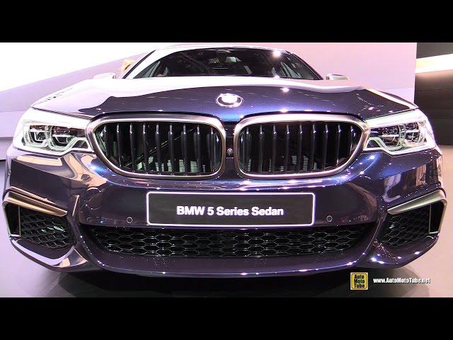 2017 BMW M550i xDrive - Exterior and Interior Walkaround - Debut at 2017 Detroit Auto Show