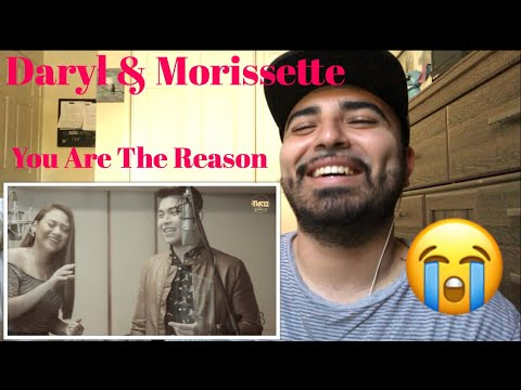 Reaction to You Are The Reason Cover By Daryl Ong & Morissette Amon