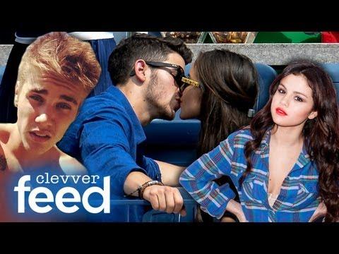 Justin Bieber s Stache Selena Gomez s Perfect Man & Nick Jonas Kisses New GF Clevver Feed