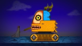 kids tv channel | scary loading truck | Halloween special vehicle videos for children