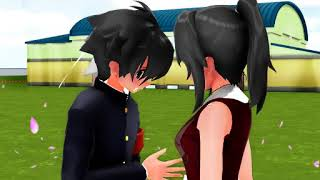 [MMD x Yandere Simulator] Shape Of You - Taro x Ayano x Budo