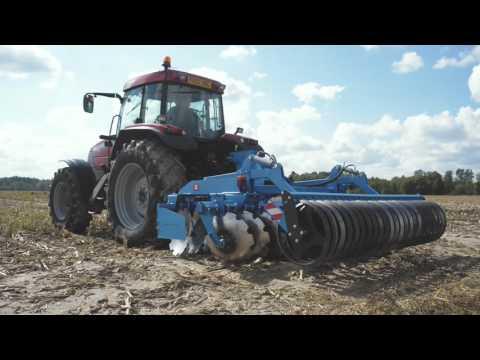 INTERTECH maszyny uprawowe agregat uprawowo siewny agregat podorywkowy brona talerzowa