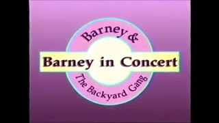 Barney in Concert Custom Theme (Backyard Gang Version)