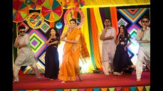 Bangladeshi Holud Dance Performance.