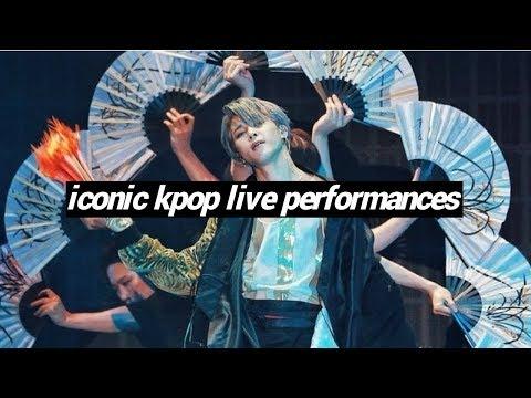 iconic kpop live performances