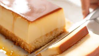 クリームチーズ・プリンケーキの作り方 Cream Cheese Custard Pudding Cake|HidaMari Cooking