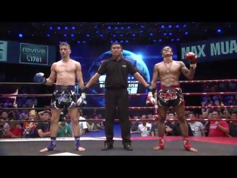 (THAILAND VS USA) Max Silver Belt 2016 (17 JAN 16) Match 3 BANPETCH VS OGNJEN