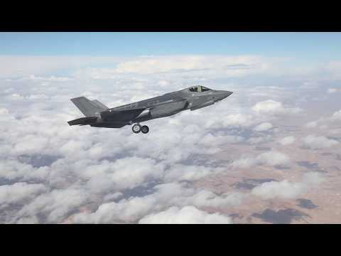 watch IAF Pilots Fly F-35 Over Israel For the First Time