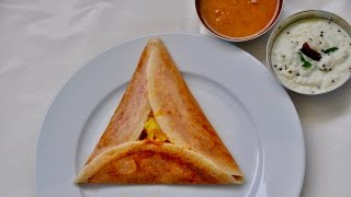 Mysore Masala Dosa/Masala Dosa /Potato Filling For Dosa/ South Indian Dosa-Recipe No 148