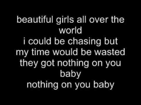 Nothin' On You - B.O.B ft. Bruno Mars lyrics