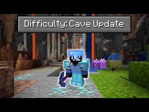 Can You Beat Minecraft on the NEW 1.17 Cave Update