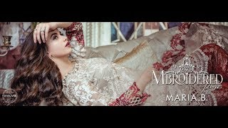 MARIA B Mbroidered Eid Collection 2017-18
