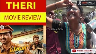 Theri Movie Review | Vijay | Atlee | Samantha - 2DAYCINEMA.COM