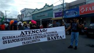 MANIFESTAÇÃO TIMBAUBA 28/04/2017 SAVIDEO