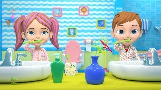 This is The Way We Brush Our Teeth | Nursery Rhymes for Children by Little Treehouse