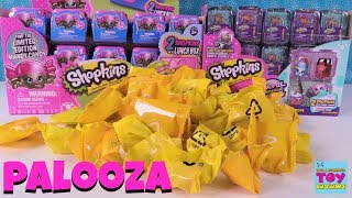 Shopkins Palooza Season 8 & Food Fair 2 Packs Opening Toy Review   PSToyReviews