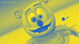 BLUE & YELLOW Gummibär SPECIAL REQUEST French Gummy Bear Song Effects