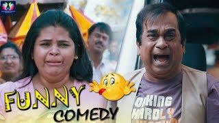 Vidyullekha Raman And Brahmanandam Funny Comedy Scene | Something Something Movie | TFC Comedy