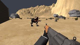 Tremors 3D Game - First spoiler/trailer - Shrieker Test 1