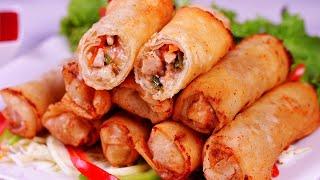 Chicken Cheese Roll Recipe - SooperChef