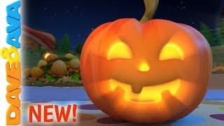 🎃Little Pumpkin - Halloween Songs   Nursery Rhymes by Dave and Ava 🎃