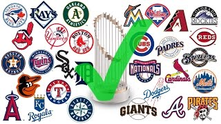 Why Your FAVORITE MLB Team WILL Win the 2017 World Series