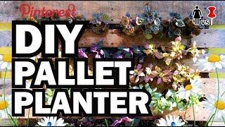 DIY Pallet Planter, Corinne VS Pin #34