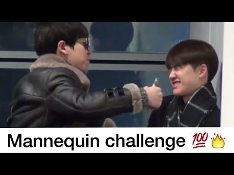 EXO Chanyeol Bullying D.O Kyungsoo! #MannequinChallenge